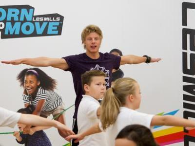 Les Mills launches 'Born to Move' childhood activity initiative