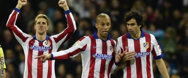 Fernando Torres struck his first goals since returning to Atletico Madrid, firing a brace in a 4-2 Copa del Rey aggregate win over holders Real Madrid.