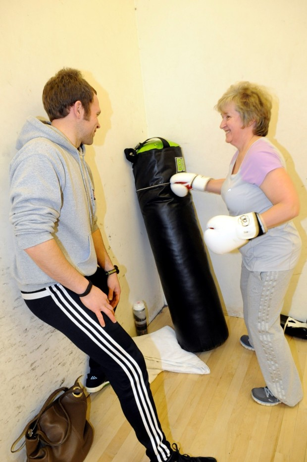 Over-50s fitness class works out to soul and Beatles classics