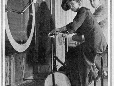 Forgotten pictures of Titanic ship's gym show how people worked out in 1900s