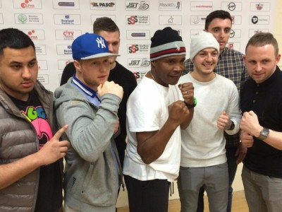 Boxing legend opens Sheffield gym