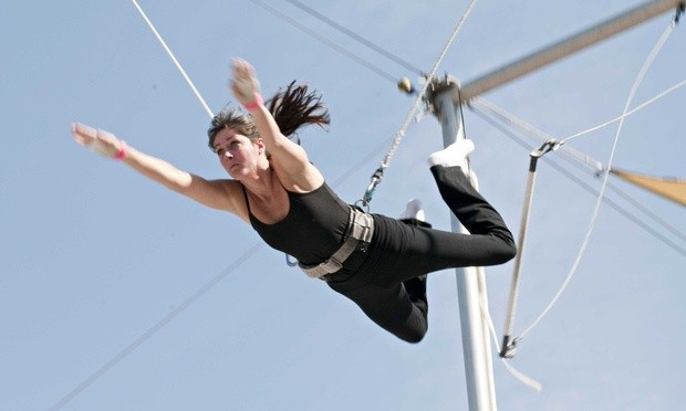 If you do one thing this month … try trapeze fitness