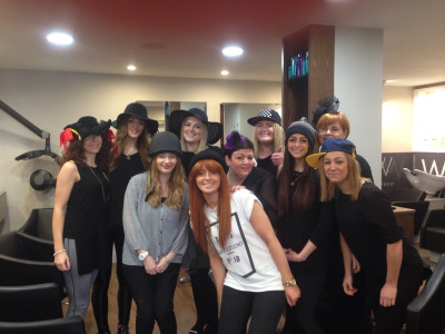WESTROW SALONS EMBRACE 'WEAR A HAT DAY' FOR BRAIN TUMOUR