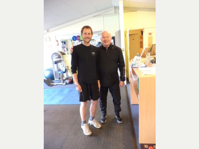 80 year old still hits the gym at BMV Health and Fitness in Shaftesbury