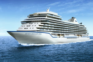 New Regent Seven Seas Cruise Ship to Feature Canyon Ranch, Red Flower Spa Treatments