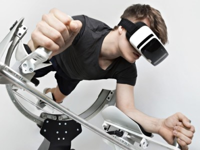 Virtual reality gym brings all the benefits of a strenuous workout
