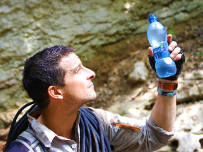 BEAR GRYLLS JOINS FORCES WITH THE WORLD'S MOST ADVENTUROUS WATER