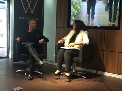 WESTROW STYLES MODELS FOR MAKEOVER SHOW ON TV CHANNEL 'MADE IN LEEDS'