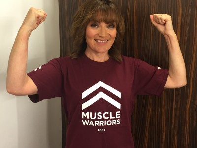 Lorraine Kelly endorses Muscular Dystrophy charity's #fitforafiver national fitness campaign