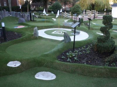 EXCITING NEW RYDER CUP LEGENDS MINI GOLF COURSE OPENS AT THE BELFRY HOTEL & RESORT