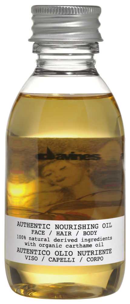 DAVINES AUTHENTIC NOURISHING OIL FOR FACE, HAIR AND BODY