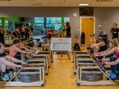 Bannatyne rides the wave of latest fitness trend at Hastings launch
