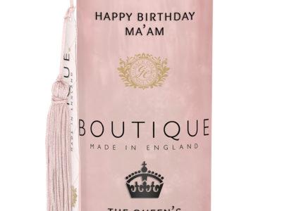 HAPPY BIRTHDAY MA'AM