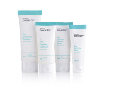 The Proactiv+ 3-Step Core System £19.99 provides a cleanse, treat and hydrate regime that leads the way in anti-blemish treatments with its superior Smart Target™ Technology.