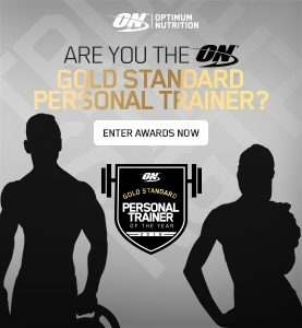 OPTIMUM NUTRITION ANNOUNCES THE FITNESS INDUSTRY'S FIRST PERSONAL TRAINER AWARDS