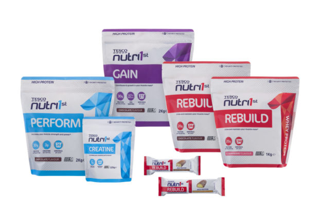 REVITALISE YOUR EXERCISE REGIME WITH TESCO'S SPORTS NUTRITION RANGE