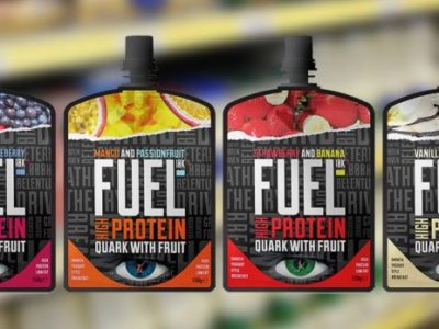FUEL YOUR DAY – WITH THE UK'S FIRST FRUITY QUARK POUCH