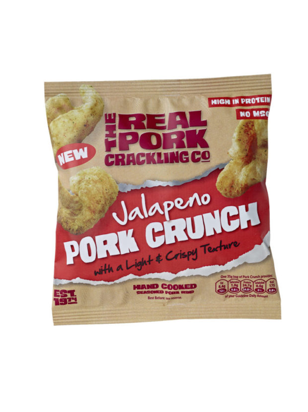 The Real Pork Crackling Company introduces the Pork Crunch, a modern  twist on a traditional snack