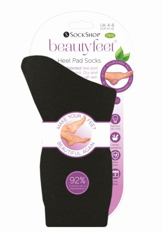 Best foot forward –get feet summer ready the easy way with Beautyfeet socks